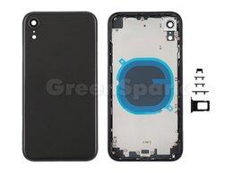 Корпусные детали - Корпус для iPhone XR (черный) HC, 0