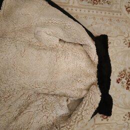 Куртки - Тулуп куртка на овчине, 0