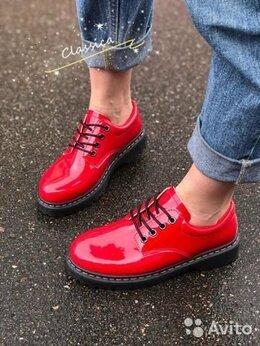 Ботильоны - Ботинки красные, 0