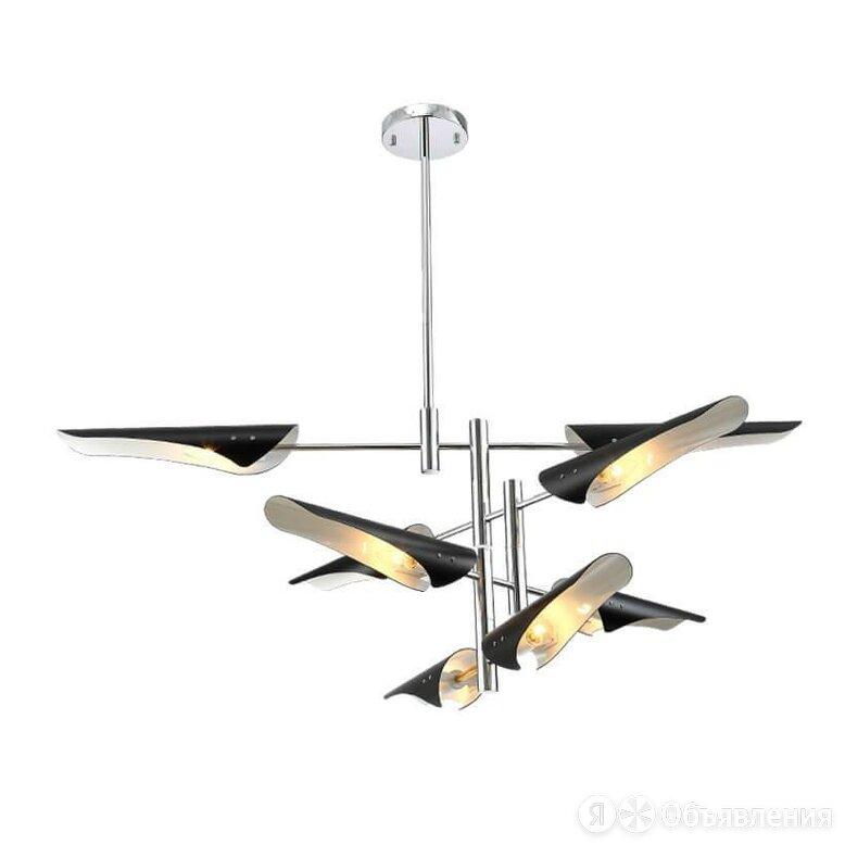 Подвесная люстра Crystal Lux Rafael SP8 Chrome по цене 37100₽ - Люстры и потолочные светильники, фото 0