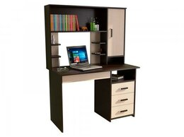 Компьютерные и письменные столы - Стол компьютерный с надстройкой СП-3 + ПСК-3/6…, 0