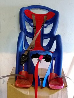 Велокресла - Детское велокресло на багажник, 0