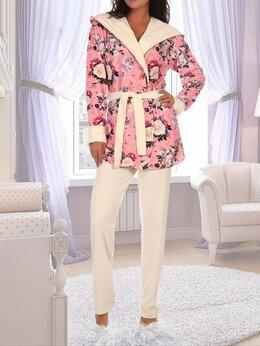 Домашняя одежда - Теплый комплект домашней одежды, 0