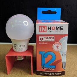 Лампочки - Светодиодная лемпа 12вт е27 нейтральный белый, 0