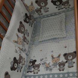 Постельное белье - Комплект постельного в кроватку, 0