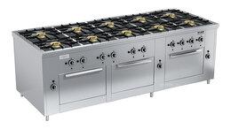 Промышленные плиты - Плита газовая Вулкан ПРГ-IIA-10 3ДШ Maxi, 0