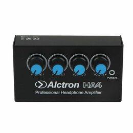 Усилители и ресиверы - Alctron HA4 Усилитель для наушников, 4 канала, 0