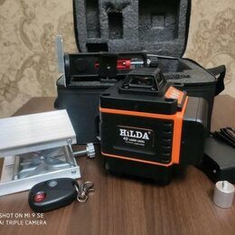 Измерительные инструменты и приборы - Новый лазерный нивелир 4D 16Лучей, 0