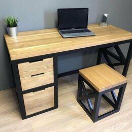 Столы и столики - Стол компьютерный в стиле лофт , 0