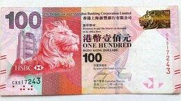 Банкноты - Гонконг 100 долларов 2010 г Гонконг Шанхайский…, 0