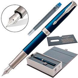 Канцелярские принадлежности - Ручка подарочная перьевая Parker Sonnet Core, 0