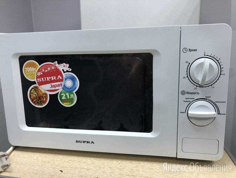 Микроволновая печь Supra по цене 990₽ - Микроволновые печи, фото 0