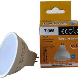 Лампочки -  Лампа светодиодная Mr16 Ecola 7W 4200K…, 0