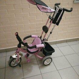 Трехколесные велосипеды - Велосипед для девочки , 0