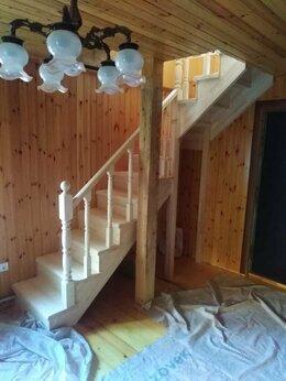 Лестницы и элементы лестниц - Деревянная лестница из сосны, 0