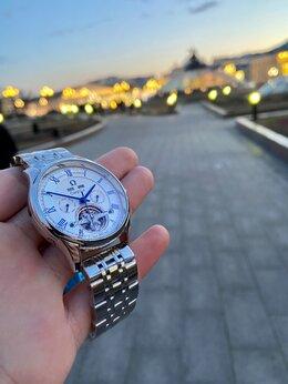 Наручные часы - Omega, механика с автоподзаводом(белые), 0