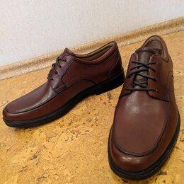 Туфли - Мужские кожаные туфли дерби Clarks, 0