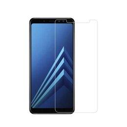 Защитные пленки и стекла - Cтекло  защитное  Samsung A8+ (2018) (олеофобное), 0