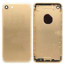 Корпусные детали - Корпус iPhone 6 золото (дизайн iPhone 7), 0