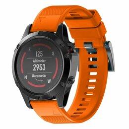 Ремешки для умных часов - Силиконовый ремешок 22 мм для Garmin, 0