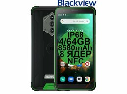 Мобильные телефоны - НОВИНКА Blackview BV6600 Green IP68 8580mAh 4/64…, 0