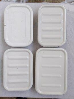 Ёмкости для хранения - Лотки (судочки) каждый по 1л. 5 шт.для холодца,…, 0