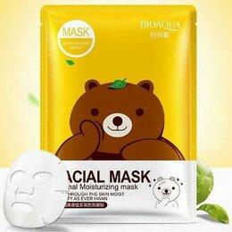 Маски - Тканевая очищающая маска для лица с экстрактом зеленого чая Bioaqua BQY8487, 0