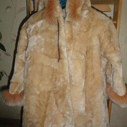 Куртки и пуховики - Детская шуба из мутона, 0