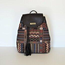 Рюкзаки - Рюкзак женский из гобелена Торговой марки Bagsland   B2542 , 0