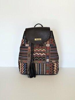 Рюкзаки - Рюкзак женский из гобелена Торговой марки…, 0