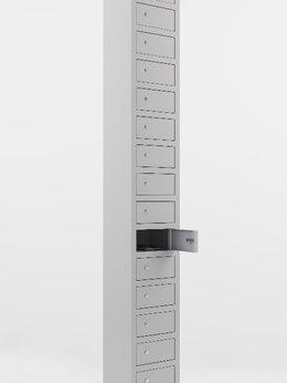 Мебель для учреждений - Металлический шкаф для хранения мобильных…, 0