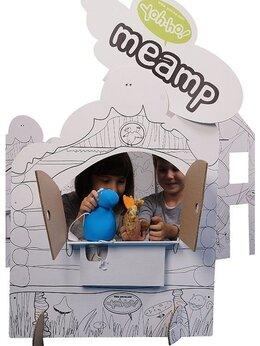 Кукольный театр - Игра в театр,Набор для творчества Я играю в театр, 0