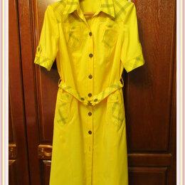 Платья - Платье универсального покроя. Платье халат. Размер 50-54 , 0