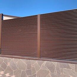 Заборы и ворота - Металлический забор жалюзи, 0