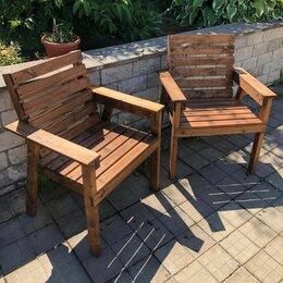 Кресла и стулья - Кресла садовые из массива дерева, 0