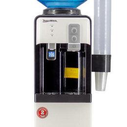 Кулеры для воды и питьевые фонтанчики - Кулер для воды Aqua Work 19-LD бело-черный, 0