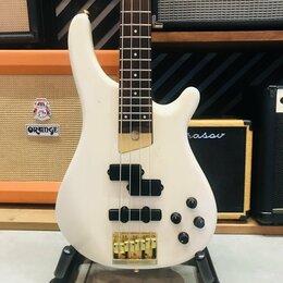 Электрогитары и бас-гитары - Бас-гитара Fernandes FRB-70 PJ White  Japan 1990s, 0