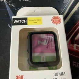 Аксессуары для умных часов и браслетов - Защитное стекло Apple Watch 38mm, 0