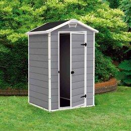 Готовые строения - Пластиковый хозблок Манор 128x94x198 см, 0
