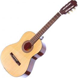 Электрогитары и бас-гитары - Классическая гитара Fabio FC03 SB (3/4, 36), 0
