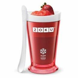 Мороженицы - Форма для холодных десертов slush & shake красная, 0