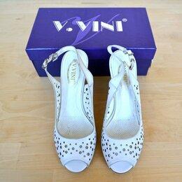 Босоножки - Босоножки женские белые V.Vini, 36 размер, 0