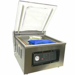 Упаковочное оборудование - Вакуумный упаковщик VOLTEK DZ-500/2F (настольный), 0