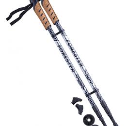 Аксессуары - Палки для скандинавской ходьбы BERGER Forester, 67-135 см, 3-секционные, 0
