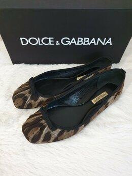 Балетки - Балетки Dolce & Gabbana Оригинал б/у, 0