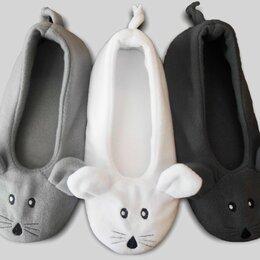 """Домашняя обувь - Детские тапочки-балетки """"Мышки"""", 0"""