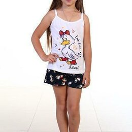 Домашняя одежда - ПИЖАМА ДЕТСКАЯ 7-75, УТЯТА (86-92) 1,5-2,5 зависит от ребёнка, 0