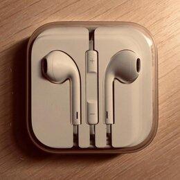 Наушники и Bluetooth-гарнитуры - Наушники проводные iphone, 0
