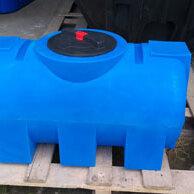 Баки - Пластиковая емкость 250 литров. Горизонтальная, 0
