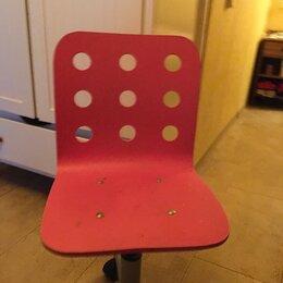 Компьютерные кресла - Стул  Икеа  вращающийся для детей и школьников хорошее состояние , 0